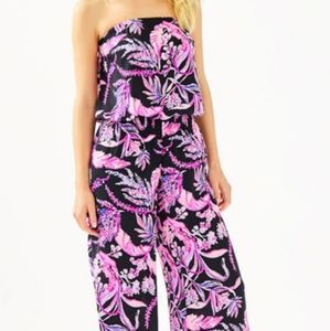 Lilly Pulitzer Pim Onyx Wild Within Jumpsuit